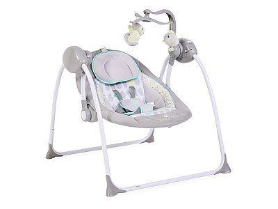CANGAROO Leagan Electric Moni Baby Swing+ Gri