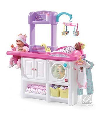 The Step2 Company Mini cresa pentru copii NEW - Love & Care Deluxe Nursery