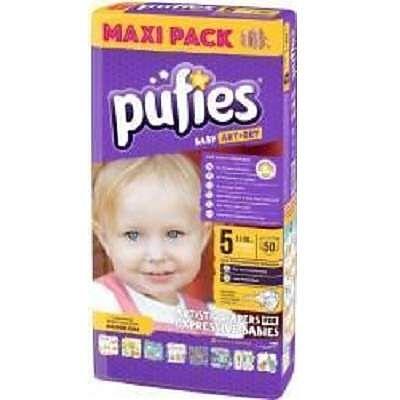 pufies Scutece nr. 5 Baby Art Junior, 11-20Kg, 50buc