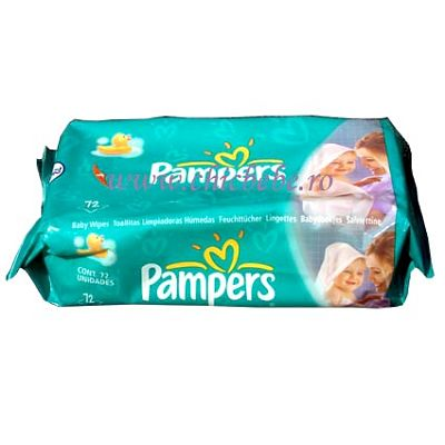Pampers Servetele rezerva 64 buc