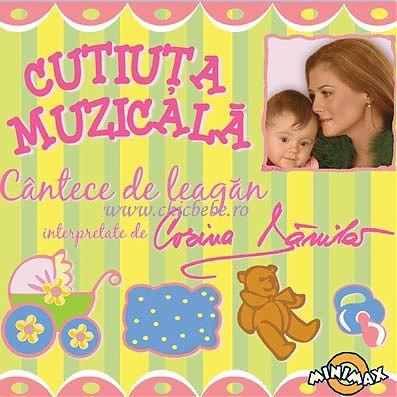 MediaPro Music CD Cutiuta muzicala, Cantece de leagan, nr. 1