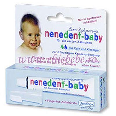 Dentinox Pasta de dinti cu periuta Nenedent-baby