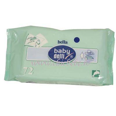 BabyDelfi Servetele Baby delfi cu lapte + provit. B5
