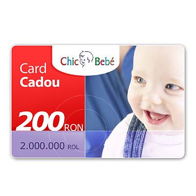 ChicBebe Card Cadou 200 Ron