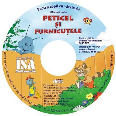 ISAMultimedia CD si revista educational Peticel si Furnicutele