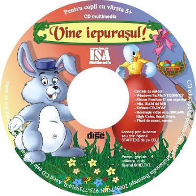 ISAMultimedia CD multimedia Vine iepurasul