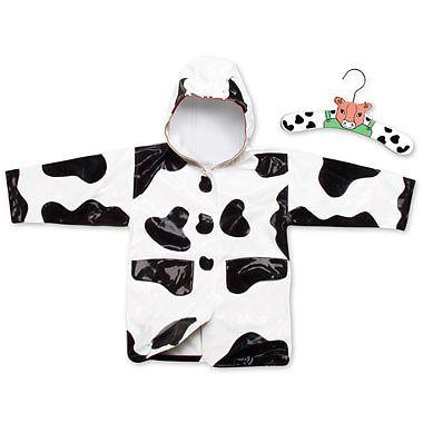 Kidorable Pelerina de ploaie Cow