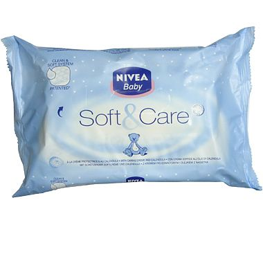 Nivea Baby Servetel umede SOFT & Care