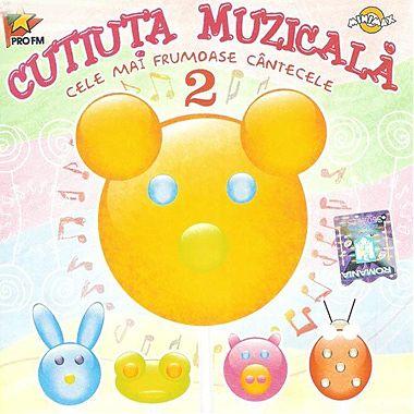 MediaPro Music CD Cutiuta muzicala Cele mai frumoase cantece, vol. 2