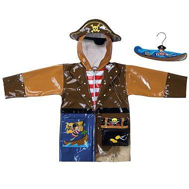 Kidorable Pelerina de ploaie Pirat
