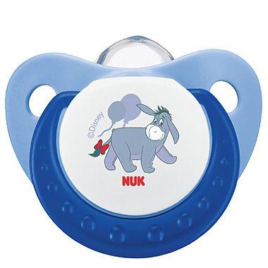 Nuk DISNEY Suzeta din silicon pentru somn, marimea 1 (0-6 luni)Disney Winnie the Pooh