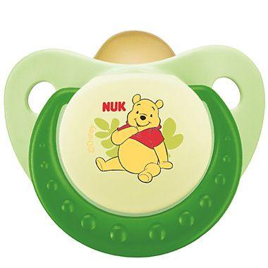 Nuk Disney Winnie the Pooh Suzeta din latex mar.3 (+18 luni)