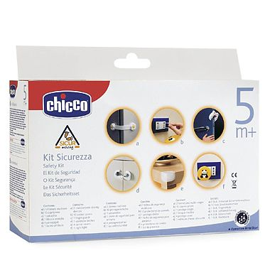 Chicco Kit de siguranta (priza, usa, dulap, frigider + lampa de veghe)