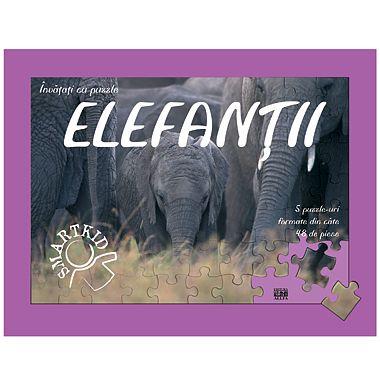 Editura ALL Puzzle - Elefantii