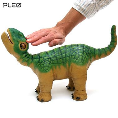UGOBE Pleo - dinozaur robotic autonom