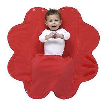 Wallaboo Paturica floare Soft Poppy red