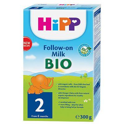 HIPP 2 BiO- Formule de lapte de continuare, 300 gr