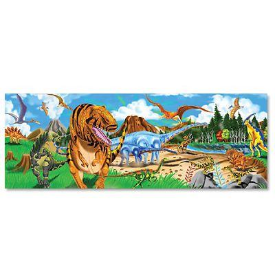 Melissa&Doug Puzzle de podea Taramul Dinozaurilor 48 pcs