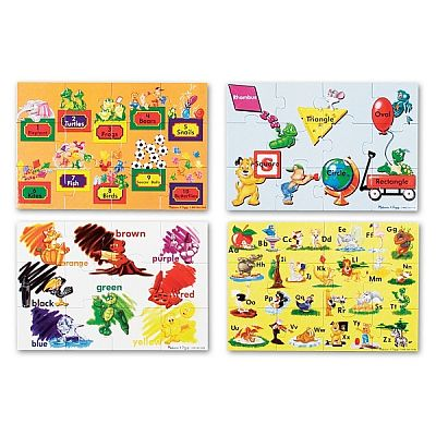 Melissa&Doug Puzzle de podea Educational 4