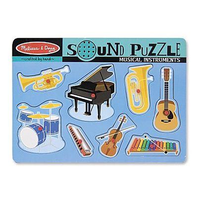Melissa&Doug Puzzle sonor Instrumente muzicale