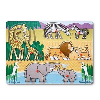 Melissa&Doug Puzzle lemn Safari