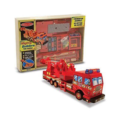 Melissa&Doug Construieste o masina de pompieri
