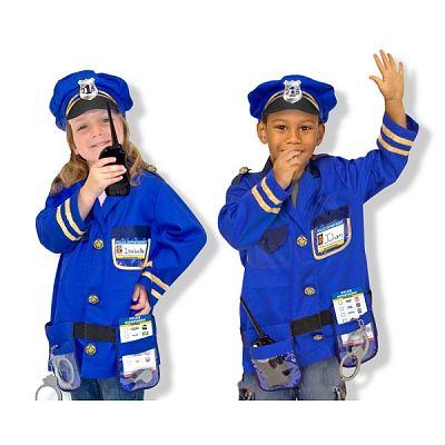 Melissa&Doug Costum carnaval copii Ofiter de Politie