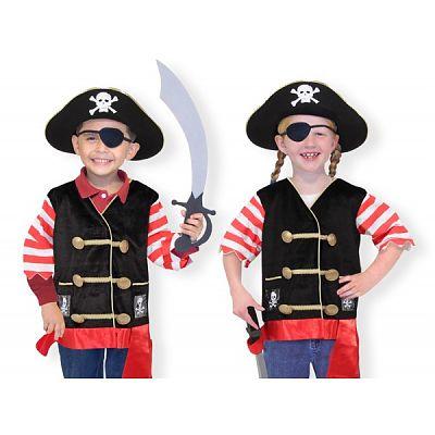 Melissa&Doug Costum carnaval copii Pirat