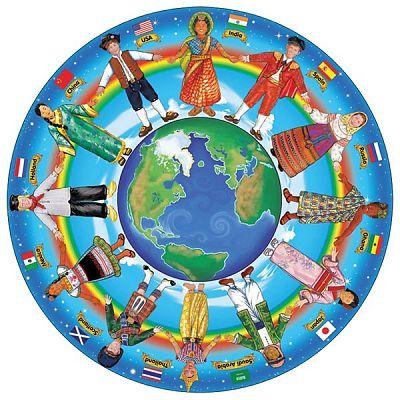 Melissa&Doug Puzzle de podea Copiii lumii