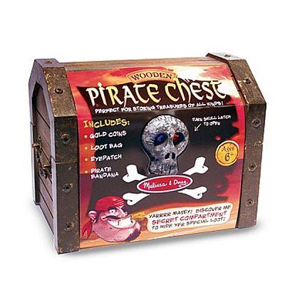Melissa&Doug Set de joaca Cufarul piratilor