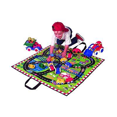 Alex Toys Covoras de joaca si cutie pentru jucarii