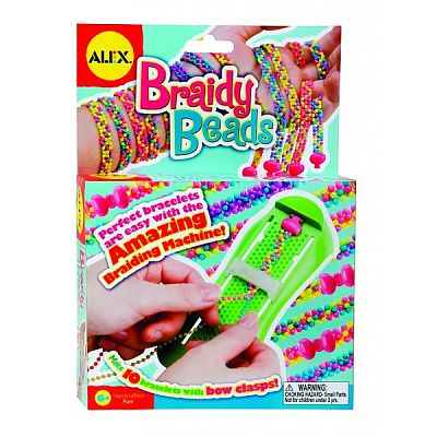 Alex Toys Bratari impletite, Braidy Beads