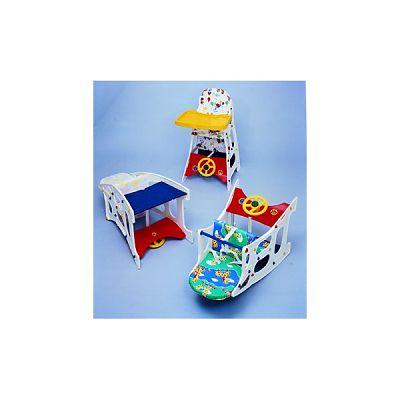 Litaf Scaun 3 in1 (scaun inalt, balansoar, birou)