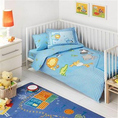 TAC Lenjerie Ranforce Baby ZOOLAND BLUE
