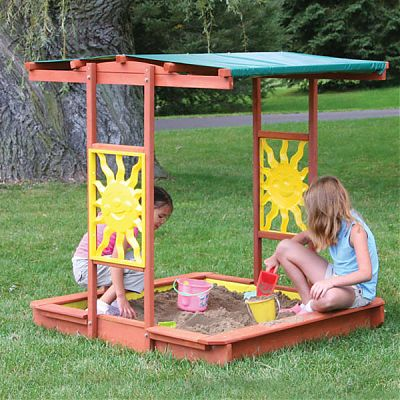 Big Backyard Cutie de nisip Brighton Sandbox
