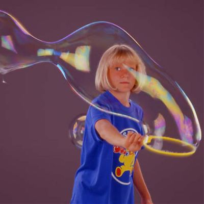 Pustefix Jucarie baloane de sapun-Inel galben