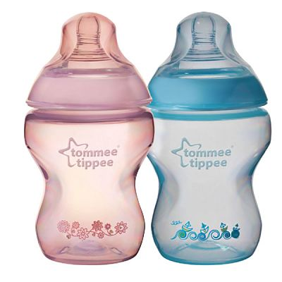 Tommee Tippee Closer to Nature Biberon Decorat 260 ml PP x 2