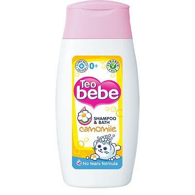 Teo Bebe Sampon fara lacrimi cu musetel 200 ml