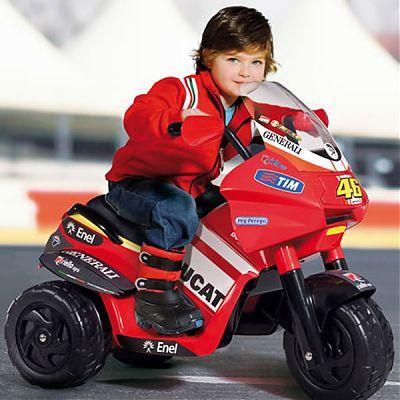 Peg Perego Motocicleta Desmosedici Rider Valentino Rossi