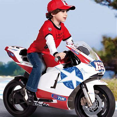 Peg Perego Motocicleta Ducati GP 24V - editie limitata