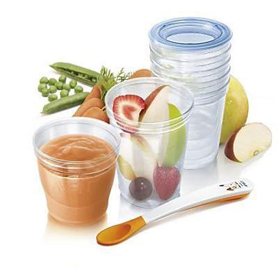 PHILIPS AVENT Recipente pentru depozitarea alimentelor