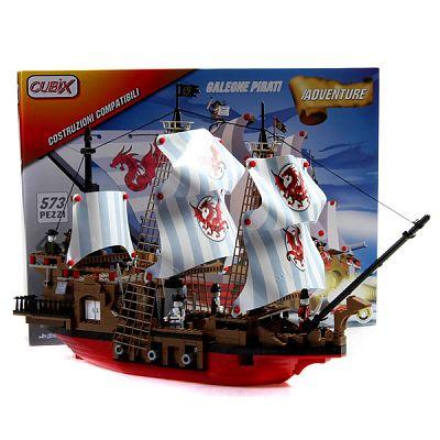 Cubix Aventura: Corabia Piratilor, 579 buc, 4ani+