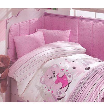 Altinbasak Lenjerie creaforce baby- bumbac 100% Ursulet roz