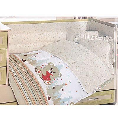 Altinbasak Lenjerie creaforce baby- bumbac 100% - Ursulet crem