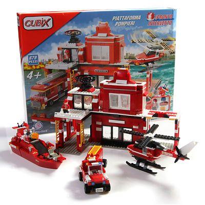 Cubix Interventii: Baza centrala de pompieri, 679 buc, 4ani+