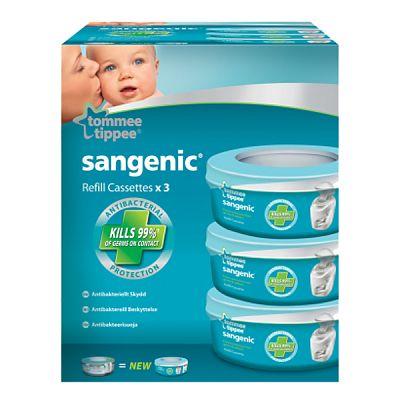 Tommee Tippee Sangenic - Set 3 rezerve universale pentru cosul Hygeine Plus  & nursery Tub