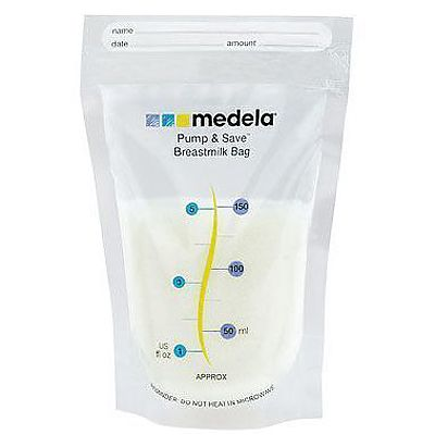 MEDELA Pump &Save -pungi de colectare lapte matern x20buc