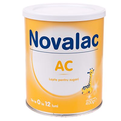 Novalac Lapte praf impotriva colicilor, incepand de la nastere