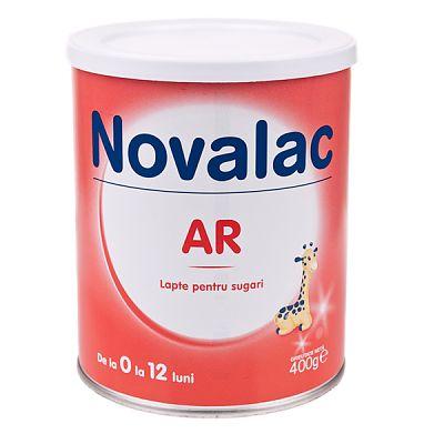 Novalac Lapte praf  AR pentru pentru combaterea regurgitatiilor 400 g