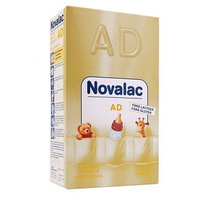 Novalac Formula de Lapte NOVALAC AD antidiareica, fara lactoza 250 g